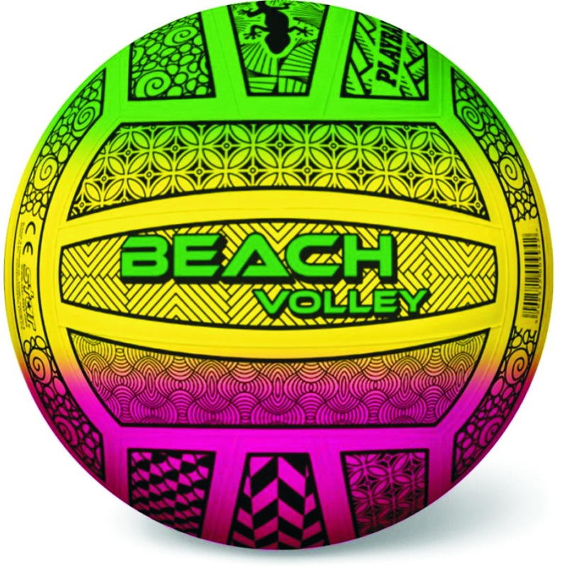 BEACH VOLLEY FLUO PATTERN 21cm ΜΠΑΛΑ