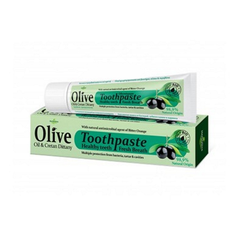 HERBOLIVE OLIVE OIL & CRETAN DITTANY TOOTHPASTE 75ml