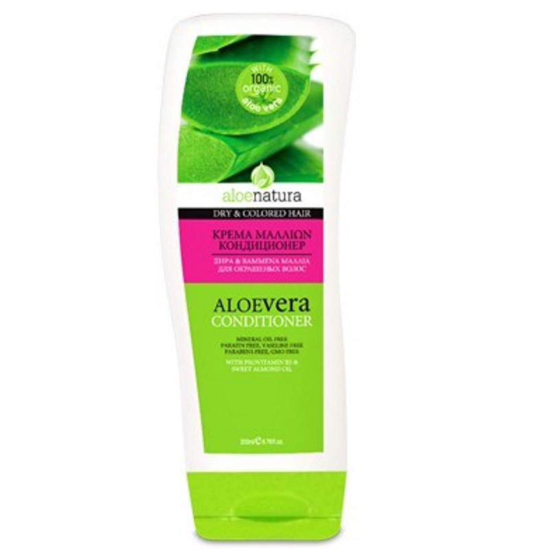 ALOE NATURA HAIR CONDITIONER DRY & COLOURED HAIR 200ml