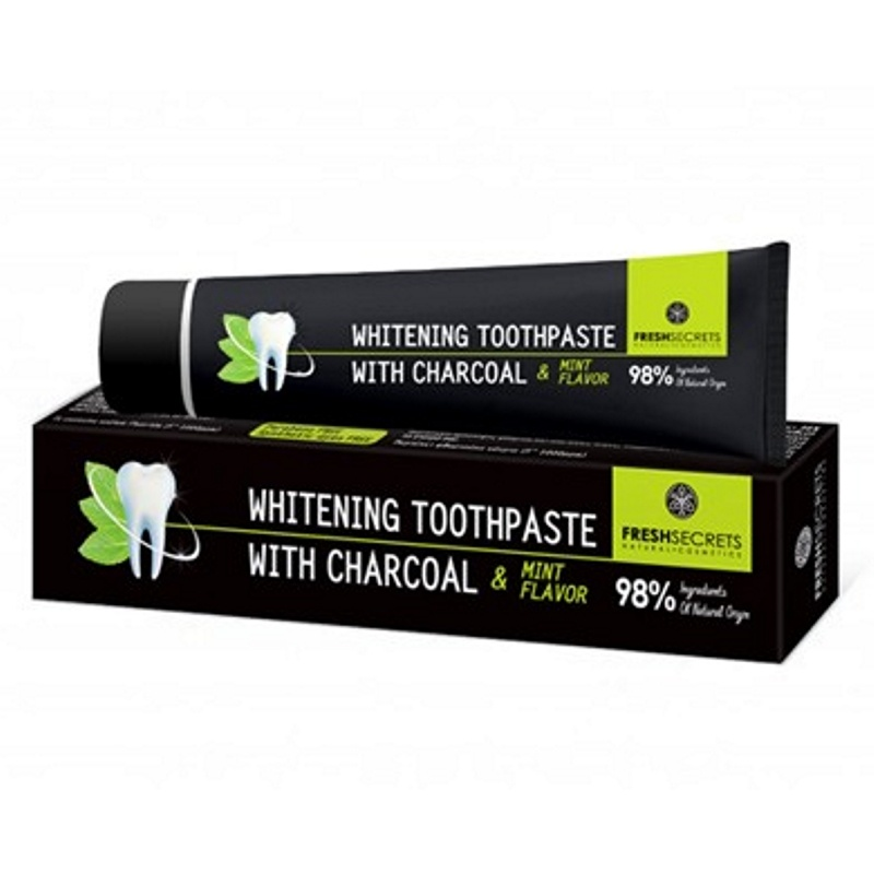 FRESH SECRETS CHARCOAL ORAL TOOTHPASTE CHARCOAL & MINT 75ml