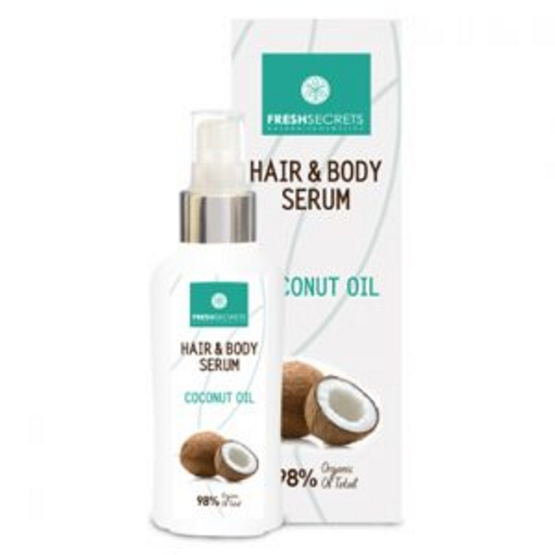 FRESH SECRETS COCONUT HAIR AND BODY SERUM 100ml