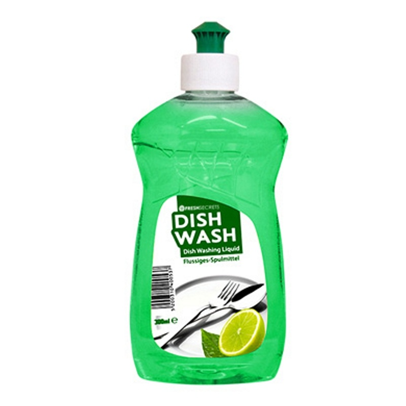 FRESH SECRETS DISH WASH GREEN-LEMON 300ml (24τεμ. ΣΥΣΚΕΥΑΣΙΑ)