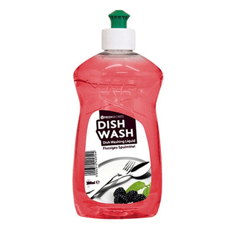 FRESH SECRETS DISH WASH RED-BLACKCURRANT 300ml (24τεμ. ΣΥΣΚΕΥΑΣΙΑ)