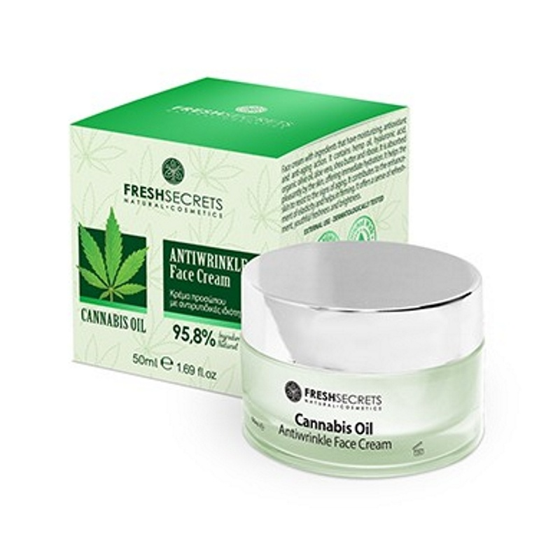 CANNABIS FACE CREAM ANTIWRINKLE FS 50ml