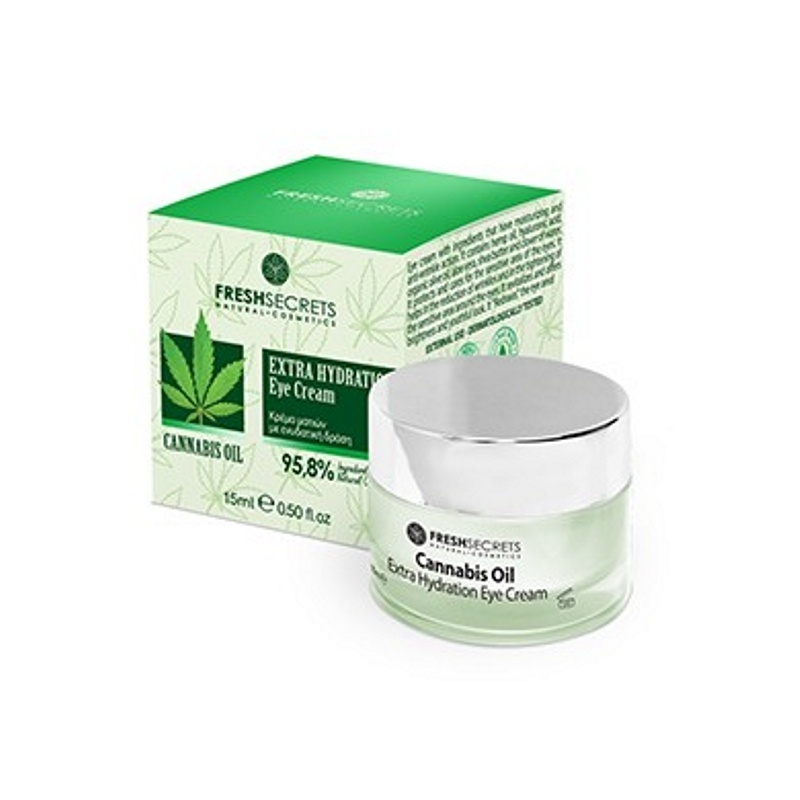 CANNABIS ΕΥΕ CREAM EXTRA HYDRATION FS 15ml